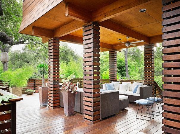 Asian Deck by Webber + Studio, Architects