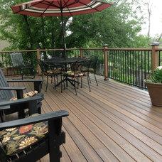 Traditional Deck by Erin Johnson Interiors, LLC