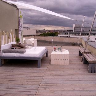Moderne Dachterrasse in Sonstige
