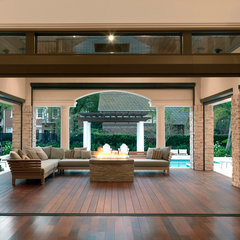 contemporary patio by The Fechtel Company