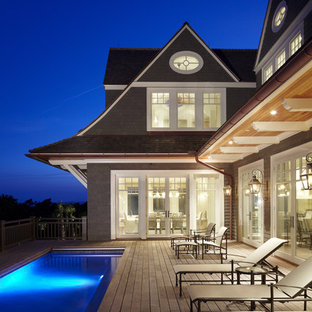 Inspiration for a coastal deck remodel in Charleston