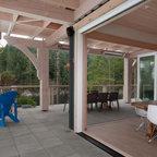 Kth Interior Design Work Beach Style Deck Toronto