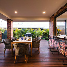 Contemporary Deck by Dale Alcock Homes