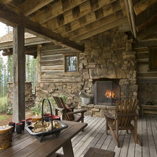 Traditional Deck by Wild Wood Eccentrics