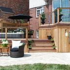 Pergolas Traditional Deck Atlanta By Atlanta