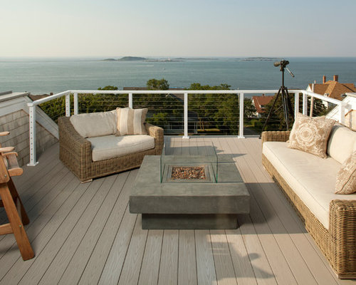 Maritime Terrasse - Ideen Für Die Terrassengestaltung | Houzz Teppich Fur Terrasse Dekoration