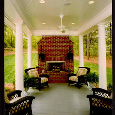 Traditional Deck by Pippin Home Designs, Inc