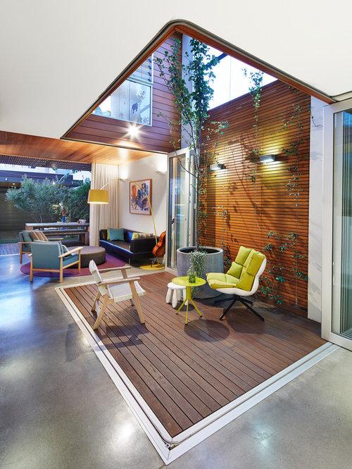 Internal courtyard home design ideas pictures remodel for Internal courtyard design ideas