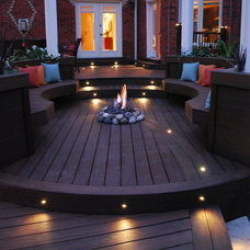 Contemporary Deck by Paul Lafrance Design