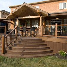 Rustic Deck by Paul Lafrance Design