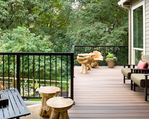 Iron Deck Railing Home Design Ideas Pictures Remodel And