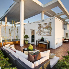 Contemporary Deck by Saya Couture & Decor