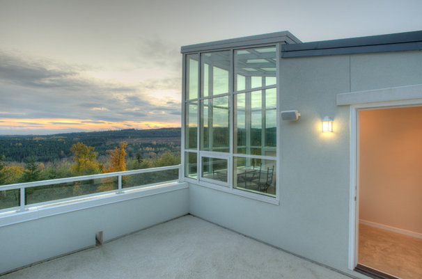 Houzz Tour An Observatory Tops Off A Modern Home