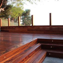 Wood Decking: Mod Wood Decking Installation