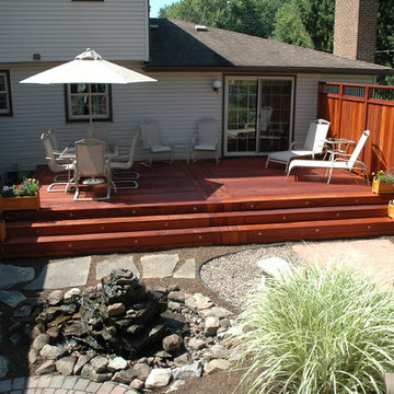 Tigerwood Deck and Privacy Fence