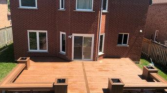 Timber tech deck Oakville
