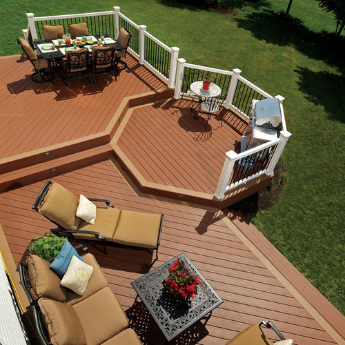 Octagonal Deck Home Design Ideas, Pictures, Remodel And Decor