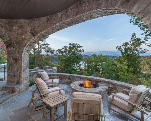 Rustikale Terrasse Ideen Design Bilder Houzz