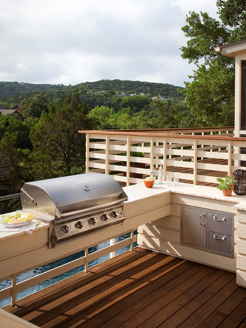 Built In Grill On Deck Home Design Ideas Pictures