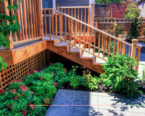 Under the deck landscaping ideas pictures remodel and decor for Front garden decking ideas