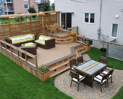 patio deck design home design ideas pictures remodel and