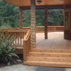 Traditional Porch by Williams Contracting Inc.