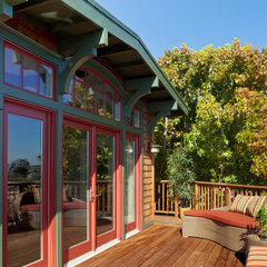 traditional porch by Patrick LePelch Architecture