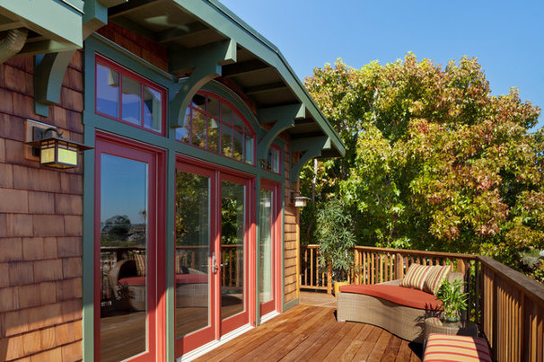 Craftsman Deck by Patrick LePelch Architecture
