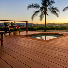 Contemporary Deck by TimberTech