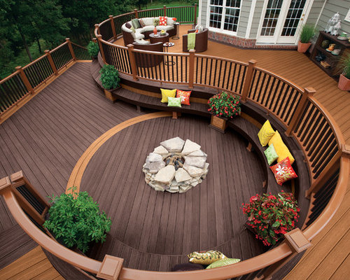 Trex Decking Colors >> Two Tone Decking | Houzz