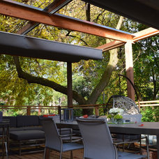 Contemporary Deck by ShadeFX Canopies