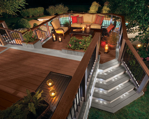 Tiered Decks Ideas, Pictures, Remodel and Decor on Tiered Patio Ideas id=87681