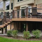 Nyc Custom Roof Deck Ipe Amp Metal Pergola Ipe Bench