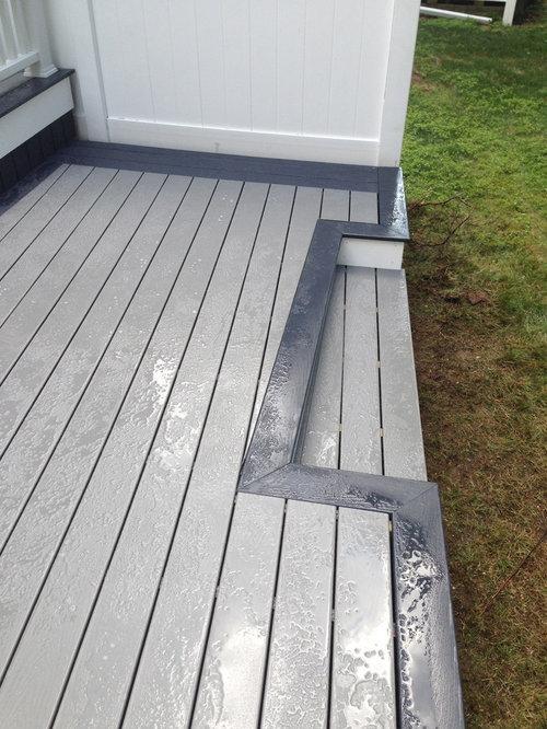 Trex Decking Gray : Trex select pebble stone winchester gray