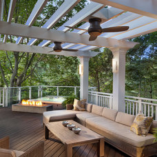 Traditional Deck by Anthony Wilder Design/Build, Inc.