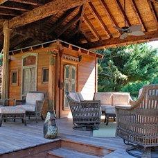 Tropical Deck by Original Landscape Concepts Inc