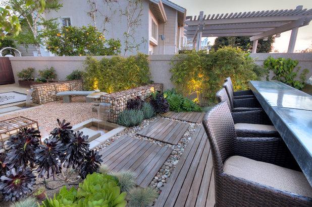 Contemporain Terrasse en Bois by Studio H Landscape Architecture