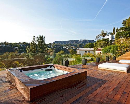 Best Hot Tub Surround Design Ideas Amp Remodel Pictures Houzz