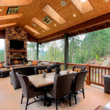 Rustic Deck by Mastercraft NW