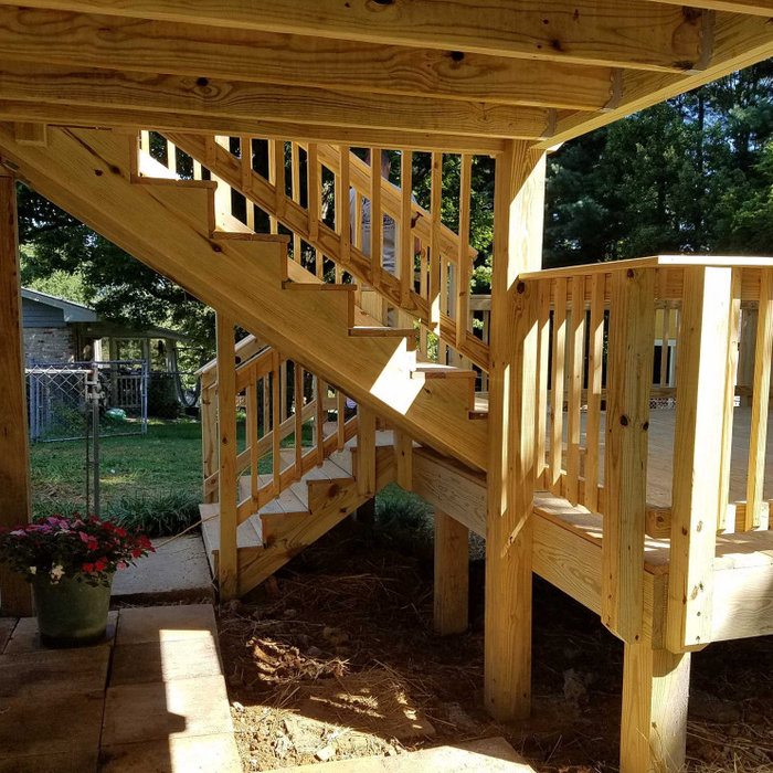 Two-Level Deck