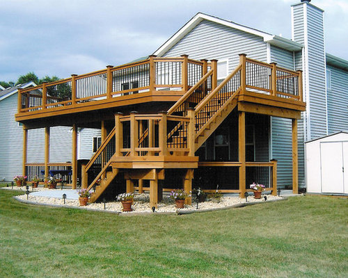 two story deck - Home Deck Design