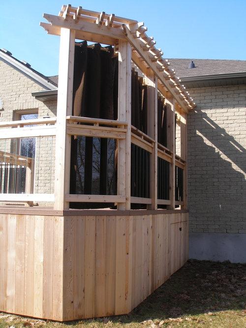 Deck Privacy Walls | Houzz