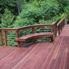 Contemporary Deck by Dishington Construction inc.