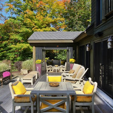 Traditional Deck by Kathleen McGovern Studio of Interior Design