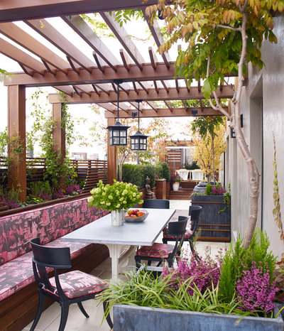 Contemporáneo Terraza y balcón by Gunn Landscape Architecture