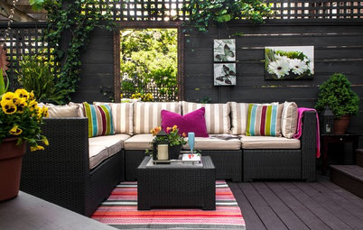 Look Down to Cozy Up Your Outdoor Space