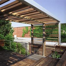 Modern Deck by Leone Design Studio