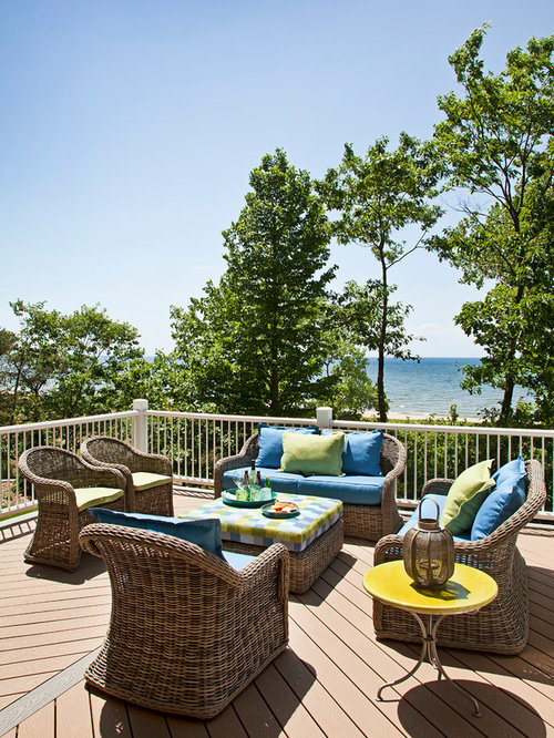 Deck furniture home design ideas pictures remodel and decor - Decking furniture ideas ...