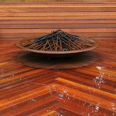 Contemporary Deck by Jade Landscape & Design