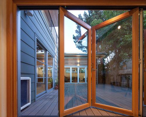 Folding Glass Doors Houzz
